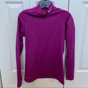 Nike Pro Combat Dri-Fit Fitted Long Sleeve
